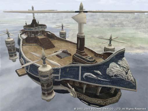 bateau volant